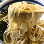 岩手屋 - スープも上品で美味しい蕎麦