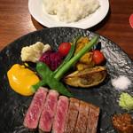 QUCHI - サーロインステーキランチ 4,700円