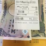 生鮮食品 ファスト長篠 - オータムクジ40枚購入して今回はオータムクジ5000円が当たりました。       やっぱり招き猫の効果あるわ。