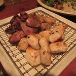 Ishiyakiisshan - コースのお肉_焼き