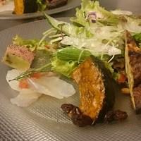 トラットリア カーサ カルマ - ランチ前菜一例