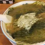 58078637 - 好味家の「快老麺(トロロ昆布入り)」=800円