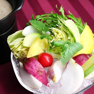 化学調味料不使用・無農薬野菜を使用。安心安全なお食事を