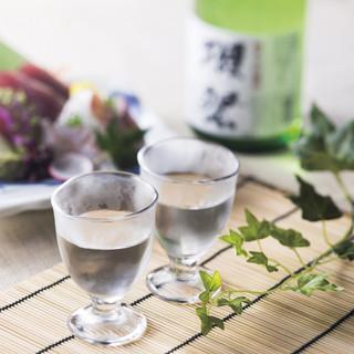 日本酒にこだわる!今宵の旨酒「獺祭」「新政」「黒龍」