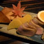 薄伽梵 - とっておきの燻製4種盛り