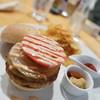ビーナッツカフェ - 料理写真:オリジナルバーガーセット