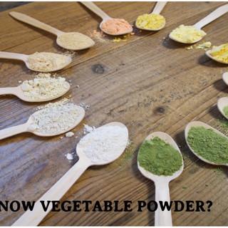 野菜パウダーとは?