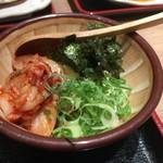 天神 わっぱ定食堂 - キムチ豆腐