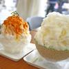 Yukiusagi - 料理写真:秋色かぼちゃあキャラメル&贅沢まるごとメロン