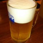 タージ・マハル - 生ビール。