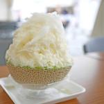 雪うさぎ - 贅沢まるごとメロン