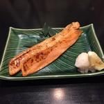 鮭のハラス焼き