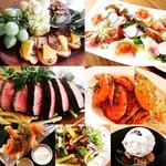 錨屋 - 3500円のコース。葡萄牛ステーキに魚介たっぷりパスタ!