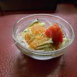 106 サウスインディアン - 最後のサラダ♪