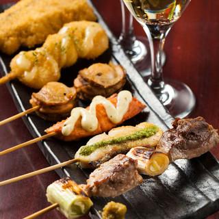 日本初!魚を串で食す魚串専門店