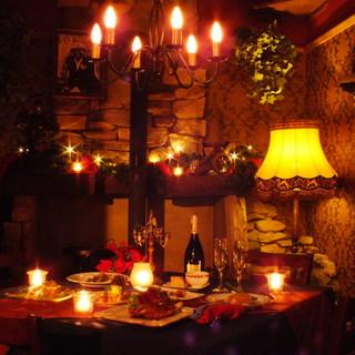ニューオリンズ風のお洒落な隠れ家レストラン