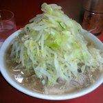 58092520 - ラーメン小700円野菜チョイ、ニンニク