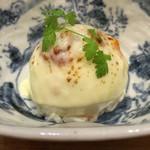 稲田屋 - 大人のチーズポテト焼き(アップ)