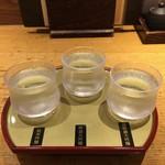 稲田屋 - 飲み比べセット(蔵元【吟醸酒セット】)