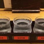 稲田屋 - 飲み比べセット(蔵元【強力セット】)
