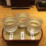 稲田屋 - 飲み比べセット(蔵元【純米酒セット】)