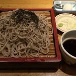 稲田屋 - 上がり蕎麦(大盛り)
