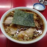 笹舟 - チャーシュー麺大盛り