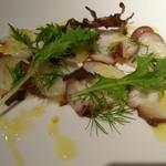 海串ポルト - 鮮魚のカルパッチョ(タコ)