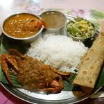 58097869 - Chettinadu Crab Meals 蟹づくしスペシャルミールス¥1700