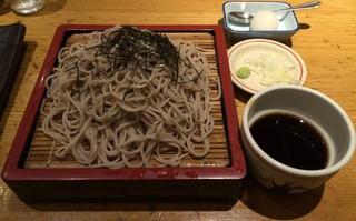 稲田屋 品川店 - 上がり蕎麦(大盛り)