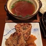 たんや又兵衛 - 焼きおにぎり/スープ