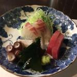 おか - 温泉豆腐コース お造り