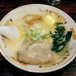 北海道ラーメンひむろ  - ひむろ錦糸町店(函館塩らーめん680円+バター100円)