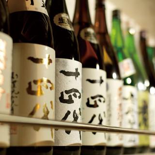 夜は日本酒で乾杯!