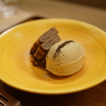 赤坂 菊乃井 - デザート:ほうじ茶アイス