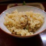 赤坂 菊乃井 - 御飯 松茸御飯