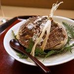 赤坂 菊乃井 - 強肴 鮑宝楽焼、つぶ貝