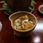 赤坂 菊乃井 - 蓋物 土瓶蒸し 鱧 松茸 みつば 柚子