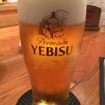 58104284 - ビールはサッポロエビス 450円