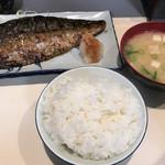 58104386 - 秋鯖の一枚焼定食