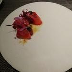 カルチェ・ラタン - 北海道産本鮪のカルパッチョ レフォールのヴィネグレット 紫蘇とカボスの香り オシェトラキャビア添え