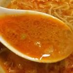 58106489 - 【2016年08月】ランチの担担麺のスープアップ、このスープは非凡な味わいで、驚きの美味しさ(⌒-⌒)