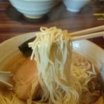 阿波家 - 細麺です