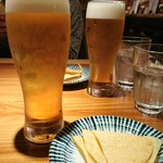 プラーナ - ビール良い感じ(*^^*)