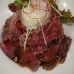 MEET ITALIAN&WINEBAR 22GRILL - ローストビーフ丼