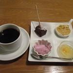 トラットリア コダマ - 珈琲とデザート
