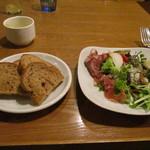 トラットリア コダマ - 自家製パンとオードブル類