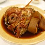 味彩 悠 - 金目鯛頭と大根煮