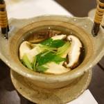 味彩 悠 - 松茸と鱧の土瓶蒸し