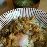 58111459 - 【ランチ】肝入り山椒親子丼ランチ:1,000円